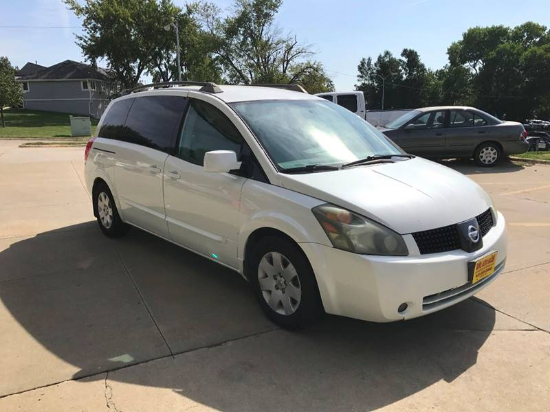 2005 Nissan Quest for sale at King Auto Sales in Omaha NE