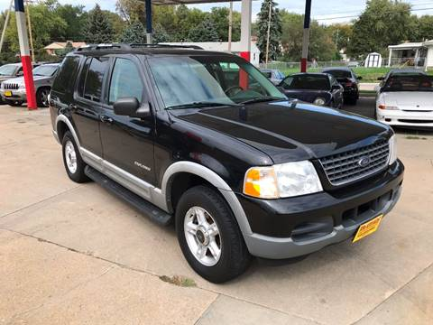 2002 Ford Explorer for sale at King Auto Sales in Omaha NE