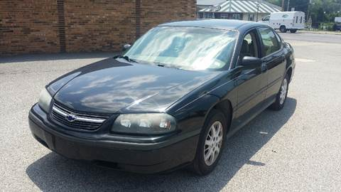 2004 Chevrolet Impala for sale at JC Auto Sales in Belleville IL
