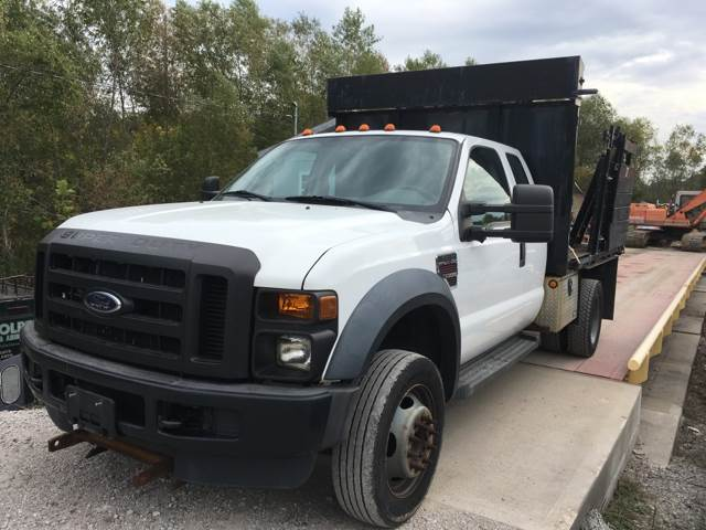 2008 Ford F-550 for sale at JC Auto Sales in Belleville IL