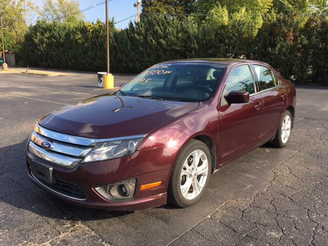 2012 Ford Fusion for sale at JC Auto Sales - West Main in Belleville IL