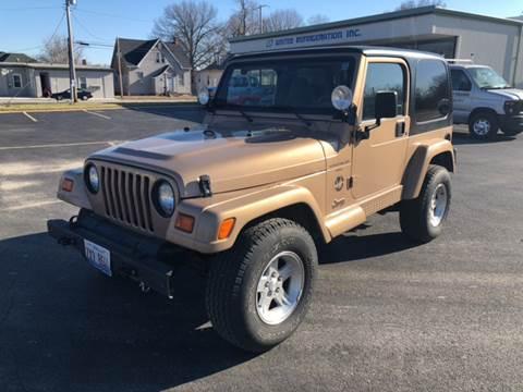 1999 Jeep Wrangler for sale at JC Auto Sales - Suburban Motors in Belleville IL