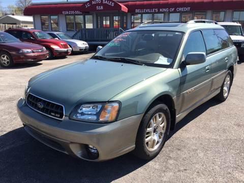 2003 Subaru Outback for sale at JC Auto Sales - Suburban Motors in Belleville IL