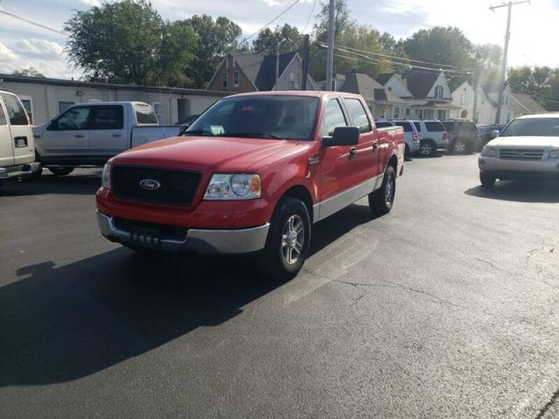 2005 Ford F-150 for sale at JC Auto Sales in Belleville IL