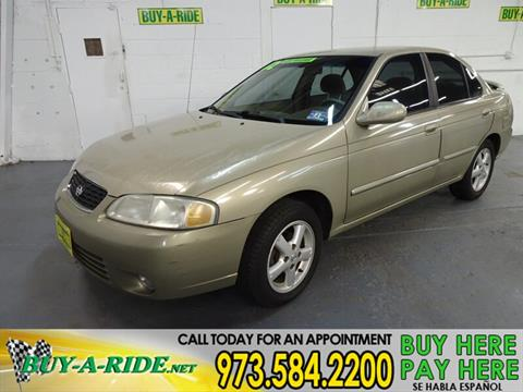 2002 Nissan Sentra for sale in Mine Hill, NJ