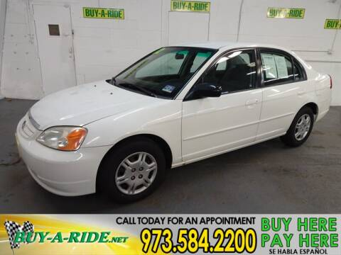 2002 Honda Civic LX for sale at Buy-a-Ride.Net in Mine Hill NJ