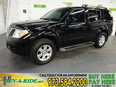 2011 Nissan Pathfinder SV for sale at Buy-a-Ride.Net in Mine Hill NJ