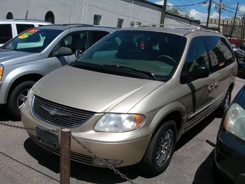 2001 Chrysler Town and Country for sale in Colorado Springs, CO