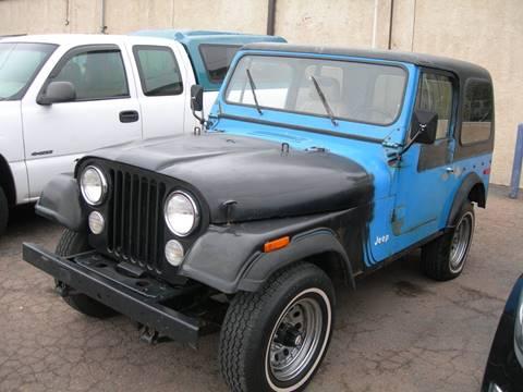 1978 Jeep Cj 7 For Sale In Fresno Ca Carsforsale Com