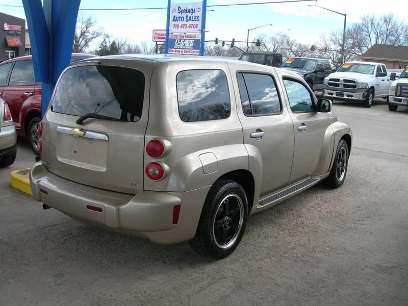 2007 Chevrolet Hhr Lt 4dr Wagon In Colorado Springs Co Springs