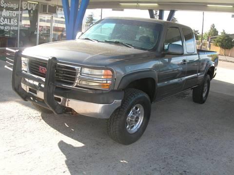 2002 GMC Sierra 2500HD for sale in Colorado Springs, CO
