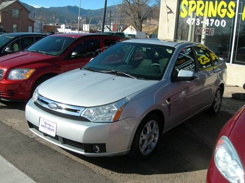 2008 Ford Focus for sale in Colorado Springs, CO