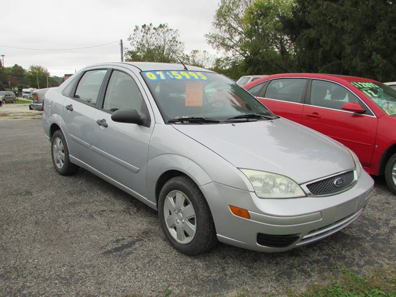 2007 ford focus zx4 se 4dr sedan in fayette ia. Black Bedroom Furniture Sets. Home Design Ideas