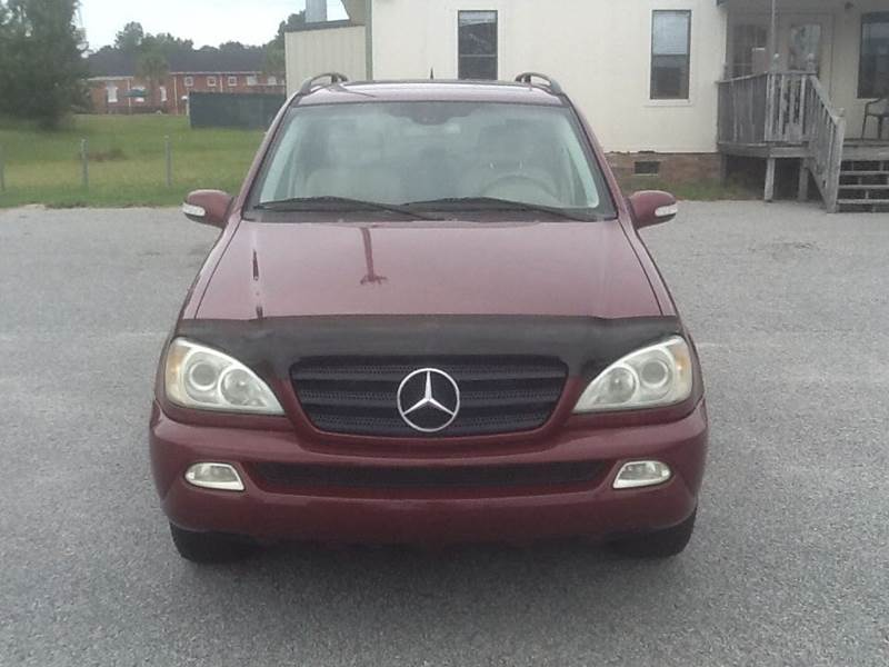 2003 Mercedes-Benz M-Class ML320 AWD 4MATIC 4dr SUV - Florence SC