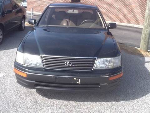 1995 lexus 400