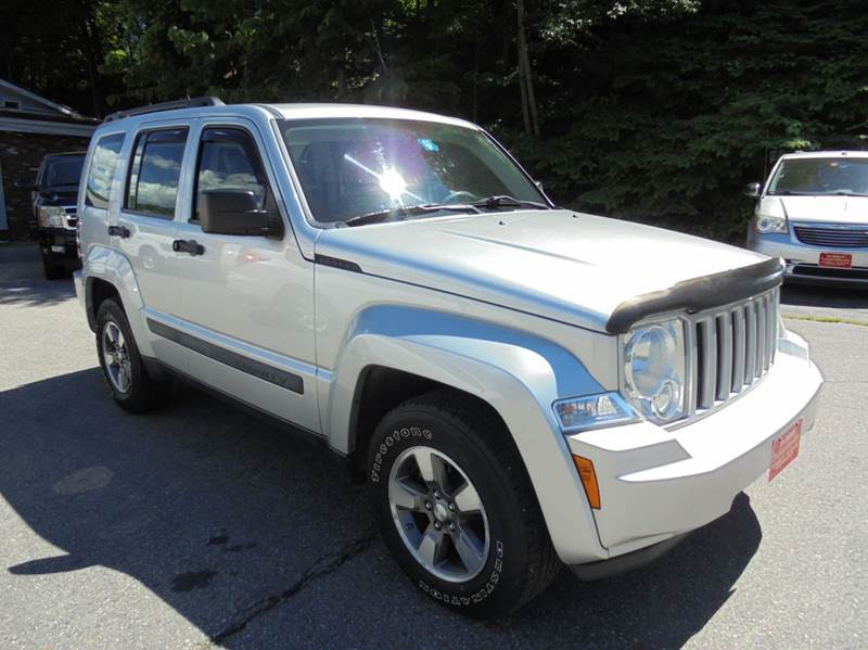 2008 jeep liberty 4x4 sport 4dr suv in springfield vt precision rh precisionvalleyautosales com Battery Location 2008 Jeep Liberty 2008 Jeep Liberty Sport