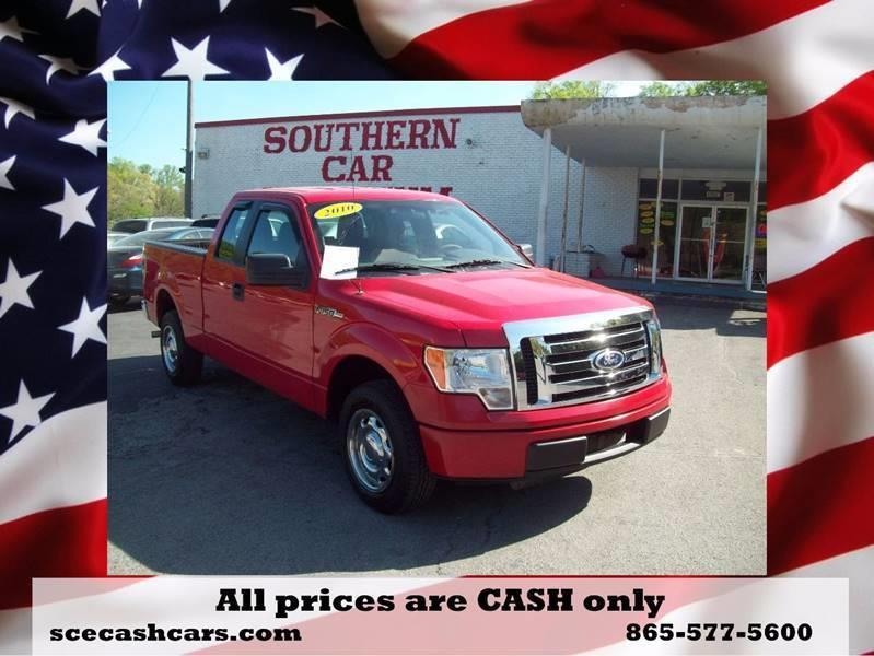 2010 Ford F-150 4x2 XL 4dr SuperCab Styleside 6.5 ft. SB - Knoxville TN