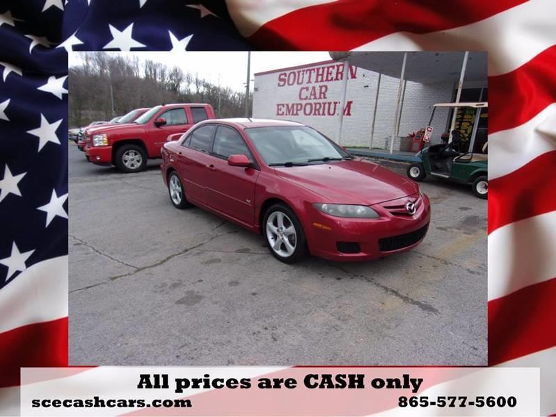 2007 Mazda MAZDA6 i Sport 4dr Sedan (2.3L I4 5A) - Knoxville TN