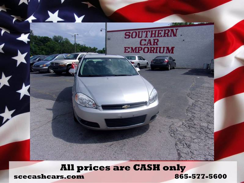 2007 Chevrolet Impala LTZ 4dr Sedan - Knoxville TN