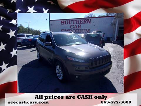 2015 Jeep Cherokee for sale in Knoxville, TN