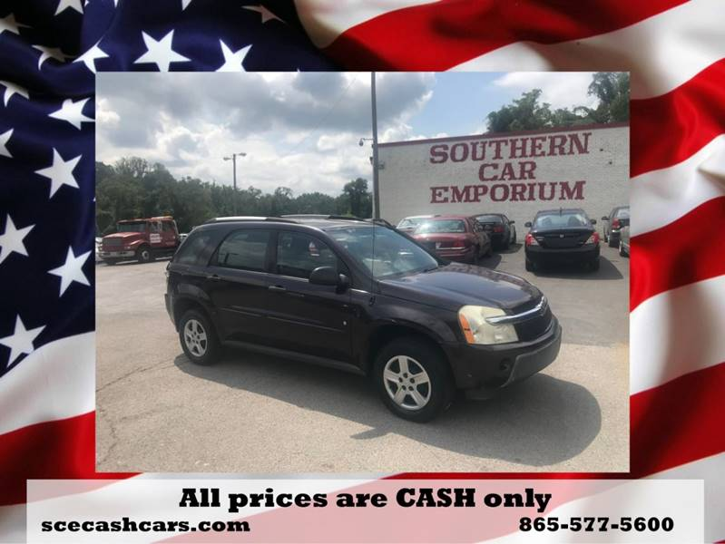 2006 Chevrolet Equinox For Sale At SOUTHERN CAR EMPORIUM In Knoxville TN