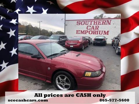 2004 Ford Mustang for sale in Knoxville, TN