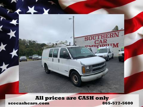 1998 Chevrolet Chevy Van for sale in Knoxville, TN