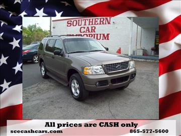 2004 Ford Explorer for sale in Knoxville, TN