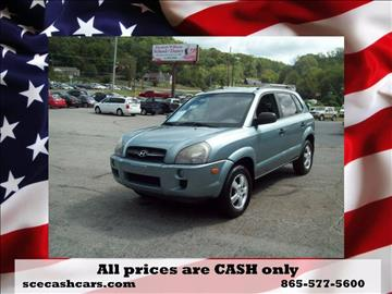 2008 Hyundai Tucson for sale in Knoxville, TN