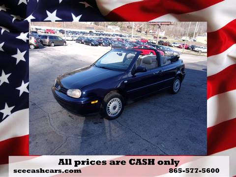 2002 Volkswagen Cabrio for sale in Knoxville, TN