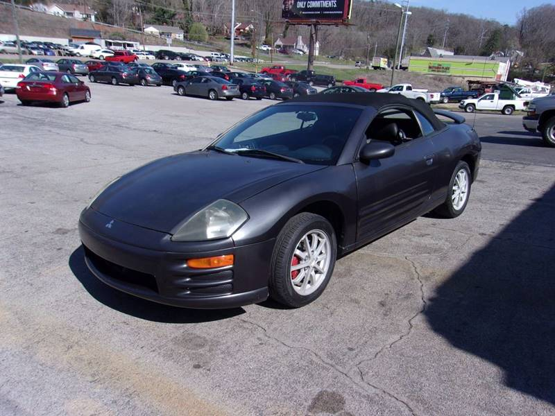 2002 Mitsubishi Eclipse Spyder GS 2dr Convertible - Knoxville TN