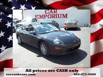2002 Mitsubishi Eclipse Spyder for sale in Knoxville, TN