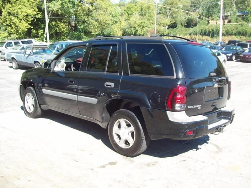 2005 Chevrolet TrailBlazer LS 4WD 4dr SUV - Knoxville TN