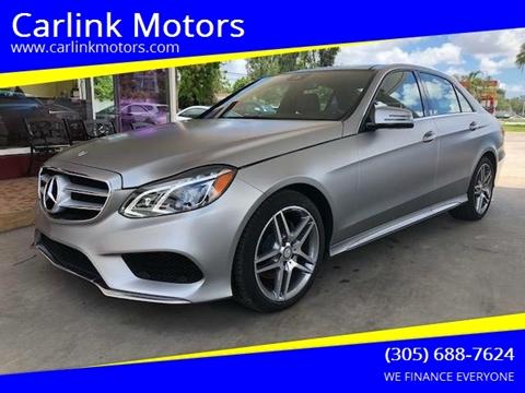 Mercedes Benz Of Miami >> Mercedes Benz E Class For Sale In Miami Fl Carlink Motors
