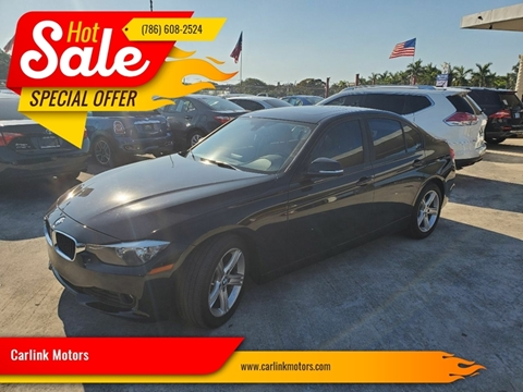 2014 BMW 3 Series 328i for sale at Carlink Motors in Miami FL