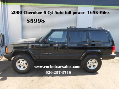 2000 Jeep Cherokee for sale in Covina, CA
