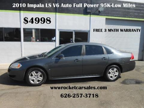 2010 Chevrolet Impala for sale in Covina, CA