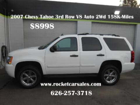 2007 Chevy Tahoe For Sale >> 2007 Chevrolet Tahoe For Sale In Covina Ca