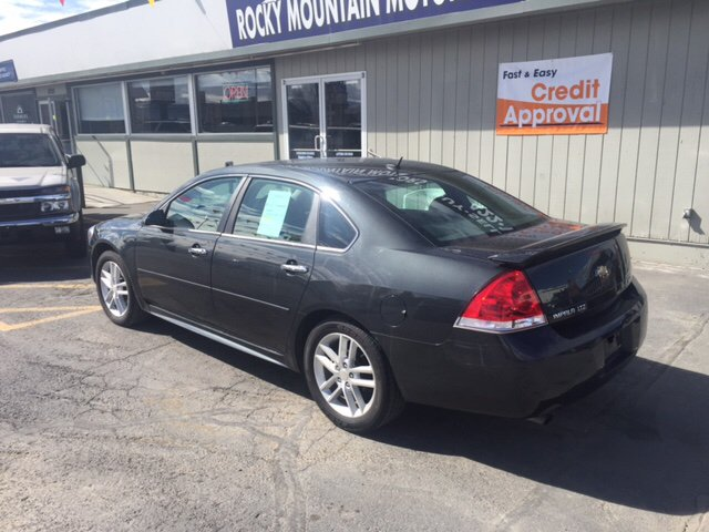 2012 Chevrolet Impala Limited LTZ 4dr Sedan - Helena MT