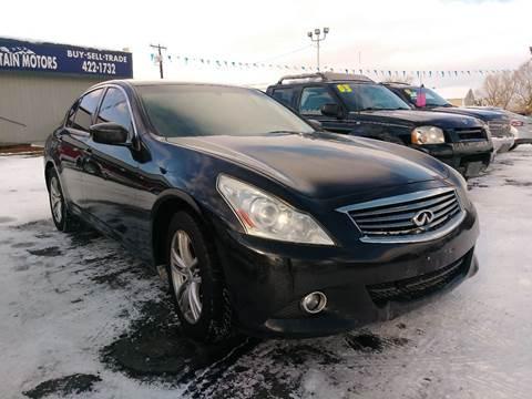2011 Infiniti G25 Sedan for sale in Helena, MT