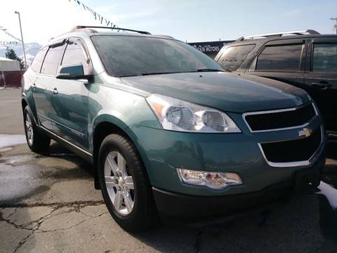 2009 Chevrolet Traverse LT for sale at Kevs Auto Sales in Helena MT