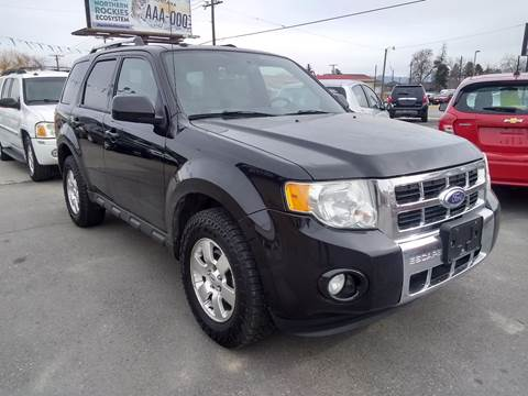 2012 Ford Escape Limited for sale at Kevs Auto Sales in Helena MT
