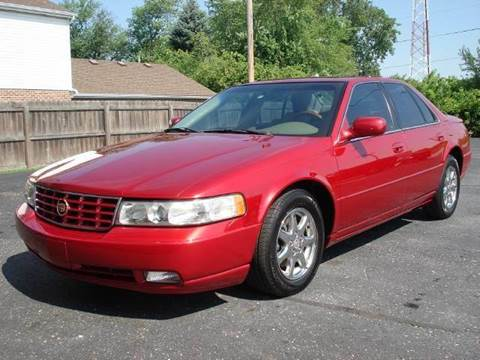 2003 Cadillac Seville for sale at Tonys Pre Owned Auto Sales in Kokomo IN