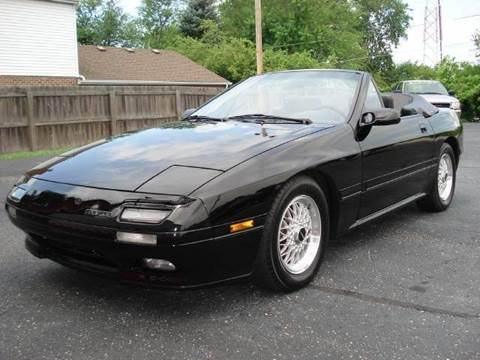 1989 Mazda RX-7 for sale at Tonys Pre Owned Auto Sales in Kokomo IN