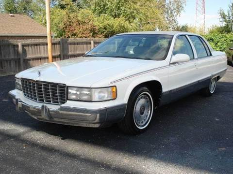 1996 Cadillac Fleetwood for sale at Tonys Pre Owned Auto Sales in Kokomo IN