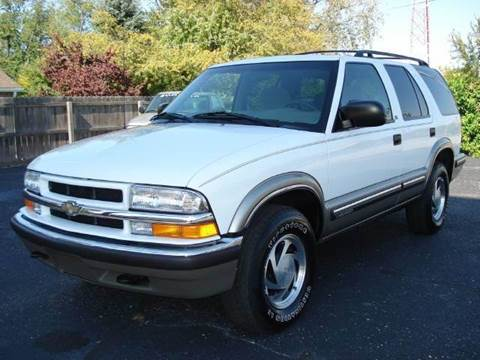 1999 Chevrolet Blazer for sale at Tonys Pre Owned Auto Sales in Kokomo IN