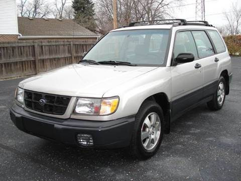 1999 Subaru Forester for sale at Tonys Pre Owned Auto Sales in Kokomo IN