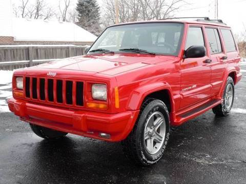 2000 Jeep Cherokee for sale at Tonys Pre Owned Auto Sales in Kokomo IN