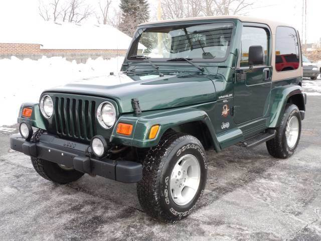 2000 Jeep Wrangler For Sale At Tonys Pre Owned Auto Sales In Kokomo IN