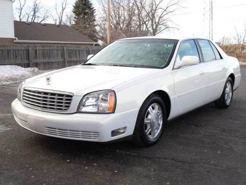 2004 Cadillac DeVille for sale at Tonys Pre Owned Auto Sales in Kokomo IN